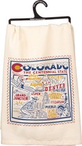 Colorado State Kitchen Dish Towel Primitives by Kathy Landmarks Cities - €13,11 EUR