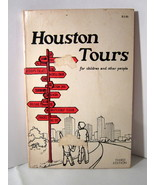 Houston Tours for Children and Other People 1976 Guide Book Soft Cover - $5.99