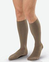 Jobst Ambition Men's 15-20mmHg Knee High, Size 5 Long, Khaki - $38.32