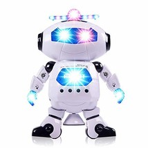 Dancing Musical Space Spin Robot, Electronic Robot, with Flashing Colorf... - $17.99