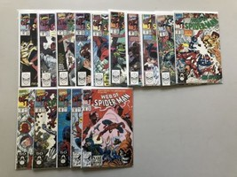 Lot of 15 Web of Spider-Man (1985 1st Series) from #62-84 VF Very Fine - $63.36
