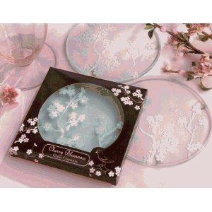 Cherry blossom coasters