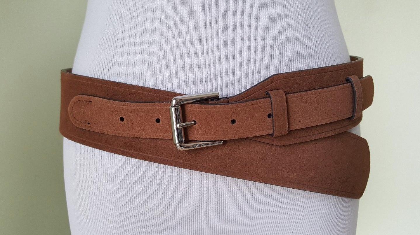 Lauren Ralph Lauren Lauren Ralph Lauren Classics Equestrian Harness Suede Belt S