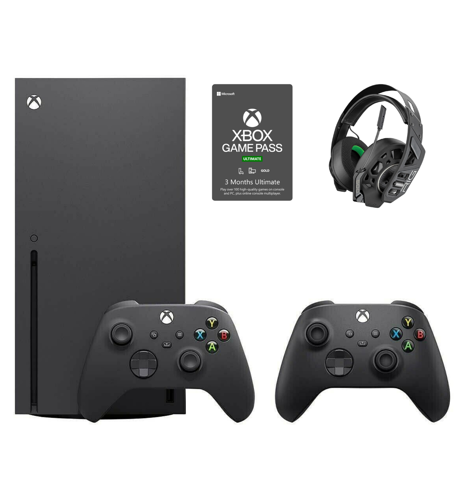 Newest Xbox Series X RIG 500 Bundle with Additional Controller - Ready to Ship