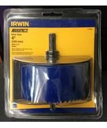 """Irwin Marathon 373400A 4"""" Bi-Metal Hole Saw With 3/8"""" Arbor - $12.87"""