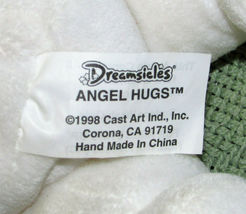 1999 DREAMSICLES ANGEL HUGS BEANBAG VINTAGE STUFFED ANIMAL PLUSH DOLL SATIN WING image 4