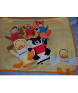 "NEW Baby Blanket - Panda look-A-Like - ""It Is A Boy or It Is A Girl"" Emb... - $13.49"