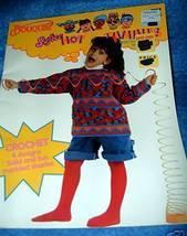 Bouquet, Hot Tamales Crochet Designs, Kids Size 2 to 12 - $3.50