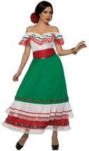 Forum Novelties Fiesta Mexicain Fête Robe Adulte Femmes Halloween Costum... - $29.38