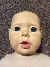 Vintage Real Baby 1984  Doll J. Turner Hasbro Heavy Weighted - $29.69