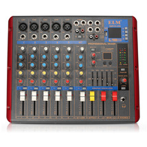EL M SMR703-USB 6 Channel Bluetooth USB Audio Mixer Mixing Console for D... - $353.70