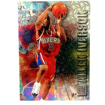 Allen Iverson Rookie Card 1996-97 Metal #201 NBA HOF Philadelphia 76ers - $4.90