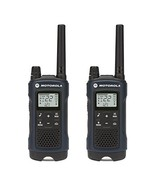Motorola Talkabout T460 Rechargeable Two-Way Radio Pair (Dark Blue) - $70.99