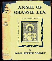 Annie of Grassie Lea SIGNED by Anne Pepper Varney Flat Signed First Edit... - $78.00
