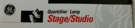 GE43167 EHG  Quartzline Lamp Q750CL/TP EHG 750 Watts 120 Volts Stage/Studio - $14.95