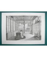 ARCHITECTURE PRINT : PARIS Godillot's Traveling Accessories Store Interior - $20.21