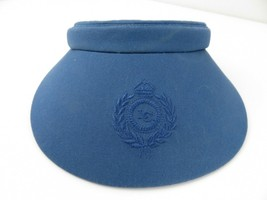 LC Blue Adjustable Adult Visor Cap Hat - $12.86