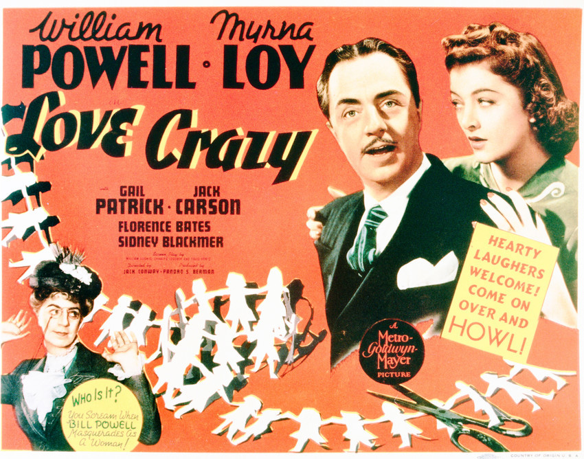 Love Crazy Featuring William Powell, Myrna Loy 11x14 Photo - $14.99
