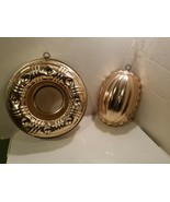 """Copper Molds Wall Mount/Hanging - Set of 2 9-1/2"""" Cake & 7"""" Shell Pineapple - $9.99"""