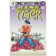 Dark Horse Comics KING TIGER Week 3 September 1993 - $5.00