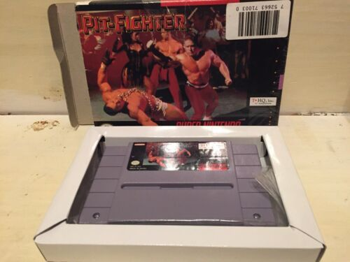 Pit-Fighter (Super Nintendo Entertainment System, 1992) in Box
