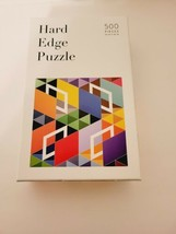 """HARD EDGE Art PUZZLE 500 pcs Complete Jigsaw Dovetail """"Cubicle"""" by Chris... - $20.32"""