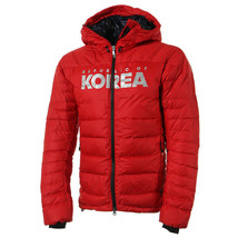 Adidas KOREA Artic Parka Hooded Down Jacket Winter Sportswear Red BQ1661 - $239.99