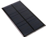 ANBES Solar Panel  120x60.5mm 6V 1W Standard Epoxy 120x60.5mm Mini Solar Cell Po