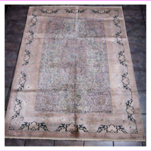 Oriental Chinese all Silk Rug 5' 7' - $1,964.61
