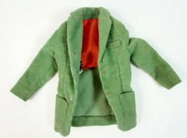 Vintage Barbie: KEN 1962 Pak Green Corduroy Jacket White Label Tag - $14.50