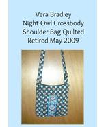 Vera Bradley Night Owl Crossbody Shoulder Bag Quilted - $15.00