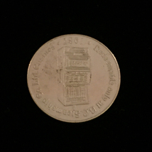 1987 British Columbia Steamship - Silver Casino Token image 2
