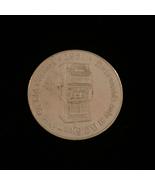 1987 British Columbia Steamship - Silver Casino Token - $5.00