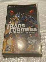 Sony PSP Game - Transformers - Revenge of the Fallen - $10.00