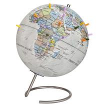 MagneGlobe 10-inch Diameter Magnetic Globe w/Magnets Antique Desk Globe - $59.99