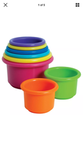 First Years Stacking cups - $4.99