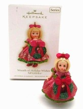 Wreath of Holiday Wishes Madame Alexander Hallmark Keepsake Ornament w/ Box - $17.99