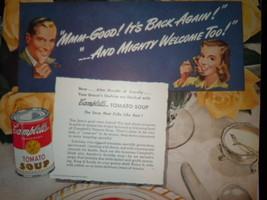 Vintage Campbell's Soup Week October 17-26  Print Magazine Advertisement 1946 image 2
