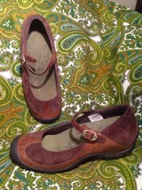 Merrell Plaza Mj Saddle Loafers Flats Shoes Brown Leather Suede Wmns Sz 6.5M - $24.74