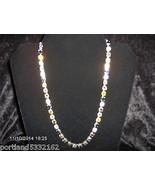 "MEA Original, Multi-Color crystals from Swarovski®. Necklace, 17 1/2"", S... - $60.94"