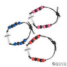 Sideways Cross Bracelet Craft Kit - $17.98