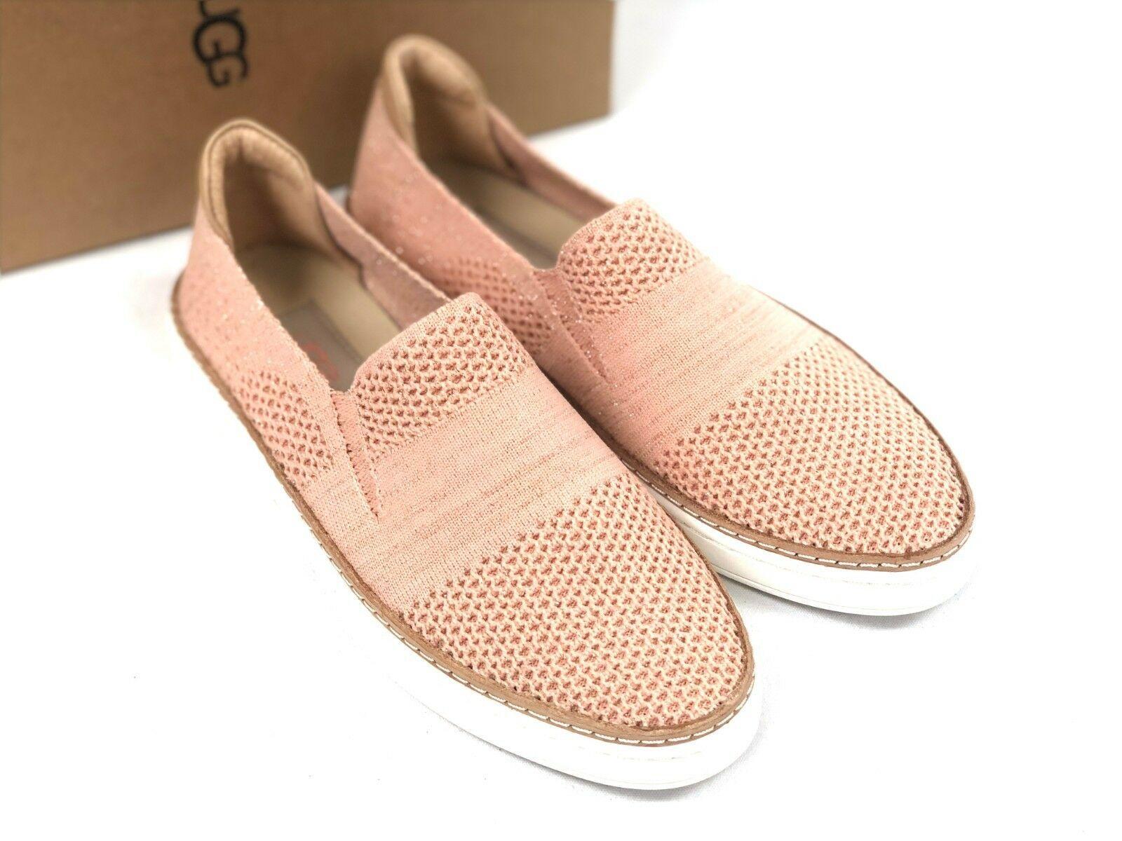 UGG Australia Sammy Metallic TROPICAL PEACH Slip On Shoe Casual Sneakers 1096249