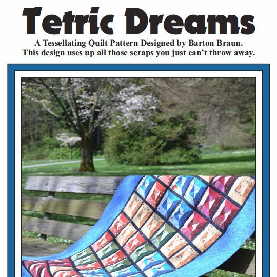 Primary image for Tetric Dreams Quilt Pattern