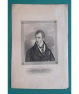 KLEMENS VON METTERNICH Austrian Foreign Minister - 1840s Portrait Print - $21.60
