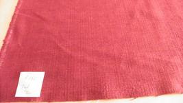 Dark Red Chenille Upholstery Fabric 1 Yard  R180 - $29.95