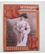 Gift Card Holder With Envelope Handmade New Gibson Girl - $3.49