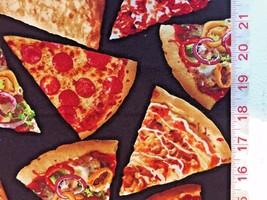 Pizza - Timeless Treasure Fabric - Food, Foodie - Half Yard - $5.99