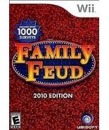Family Feud -- 2010 Edition (Nintendo Wii, 2009) - $27.67