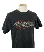 Harley Davidson T-Shirt Large Double Sided Janesville Wisconsin Eagle Bi... - $23.79