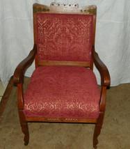 Quartersawn Oak Carved Armchair / Parlor Chair  (AC65) - $399.00